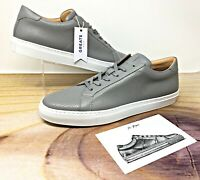 Greats The Royale Ash Perforated Men's Sneakers Size 13 Made in Italy (GRGP460)