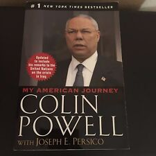 My American Journey by Colin Powell Paperback Book 1995 (English) Excellent cond