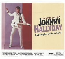 JOHNNY HALLYDAY / THE VERY BEST OF * NEW 2CD'S 2013 * NEU *
