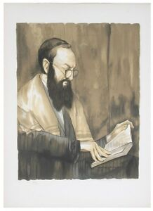 """""""SCHOLAR"""" BY BUTTERFIELD SIGNED LITHOGRAPH LIMITED EDITION OF 100 W/ CoA"""
