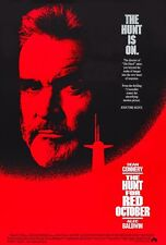 THE HUNT FOR RED OCTOBER (1990) ORIGINAL MOVIE POSTER  -  ROLLED