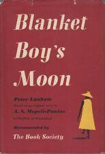 Peter / A.S. Lanham & Mopeli-Paulus BLANKET BOY'S MOON 1953 HC Book