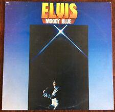 ELVIS PRESLEY,ELVIS,MOODY BLUE,VINTAGE LP 33,ALBUM.EXCELLENT CONDITION.