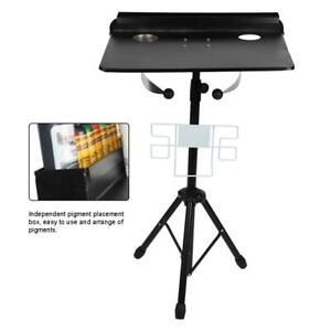 Tattoo Mobile Work Station Stand Adjustable Tattoo Supply Desk Table Detachable