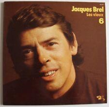 JACQUES BREL - 6 - Les Vieux - LP - Barclay - 1979 - 90.020 - Chanson - France
