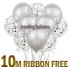 "16 Pack Confetti Ballons Latex 12"" Decorations Helium Birthday Party Wedding"