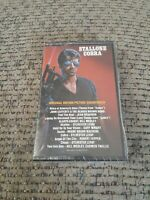Cobra Original Motion Picture Soundtrack Cassette Tape Sylvester Stallone 1986