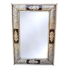 Orientalischer Spiegel Marokkanische miroir mirror Orient Maroc S23 versilbert