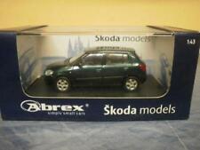 Abrex 1:43 PKW Skoda Fabia II dunkelgrün metallic