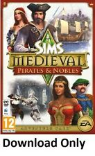 (Pc/Mac) Los Sims Medieval Piratas & Nobles (origen cd-key)