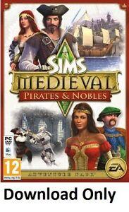 (PC/MAC) The SIMS Medieval Pirates & Nobles (ORIGIN CD-Key)