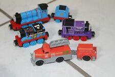 Thomas And Friends Diecast Train Lot of 6 Charlie Flynn Gordon Thomas Chocolate