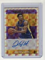 2017-18 Panini NBA Hoops JOSH HART Autograph Rookie Card (Los Angeles Lakers)
