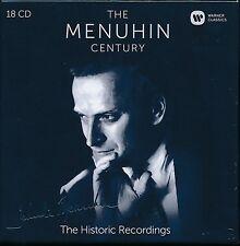 The Menuhin Century The Historic Recordings 18-disc CD box set NEW