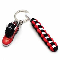 3D Mini Sneaker Shoes Keychain Retro Doernbecher With Strings for Air Jordan 3