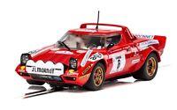 Scalextric Lancia Stratos Tour De Course Rally De France 1975 slot car C3930