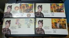 Malaysia 1999 P.Ramlee Seniman Agong MS stamp FDC inlaid Copper Coin + Free 3FDC