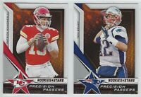 2019 Panini Rookies & Stars PRECISION PASSERS Complete Your Set - You Pick!