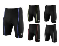 Men's Cycling Padded Coolmax® Shorts Bycycle Leggings Pants Top Quality Lycra UK