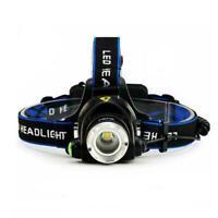 T6 LED 18650 Headlamp Headlight Flashlight ZOOM Head Light Lamp Hot Torch E8A8