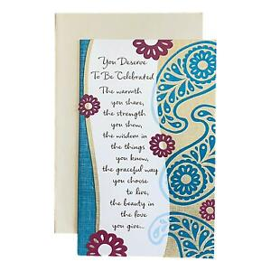 Mother's Day Greeting Card - You Deserve To Be Celebrated The warmth you share,