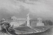 MÜNCHEN RUHMESHALLE MUNICH HALL OF FAME LEO VON KLENZE KÖNIG LUDWIG I BAVARIA