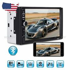 "7"" Touch Screen Car Stereo Radio MP5 Player Audio In-dash AUX BT USB Double DIN"