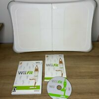 Nintendo Wii Fit Balance Board with Game / Tested / Complete / CIB / Free Ship