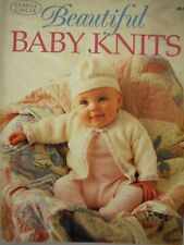 Family Circle Knitting Pattern Book - BEAUTIFUL BABY KNITS - Newborn to 3 Years