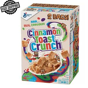 Cinnamon Toast Crunch Cereal 49.5 oz 2 pack