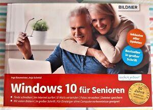 Windows 10 für Senioren – Lehrbuch Bildner Verlag – NEU 2021