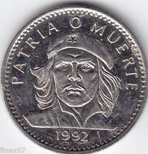 1992 CHE GUEVARA 3 PESOS NICKEL COIN