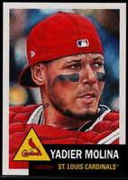 2019 Topps MLB The Living Set #250 Yadier Molina St. Louis Cardinals