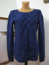 100% Kaschmir/Cashmere Laundry by Shelli Segal Damen Pullover blau Gr. M