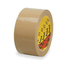 SCOTCH 373 Carton Tape,Polypropylene,Tan,72mm x 50m
