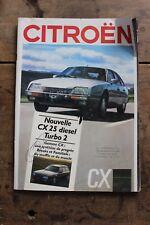 CITROEN CX 25 - Ancienne brochure publicitaire - 43 pages
