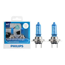 Philips H7 12972DVS2 12V 55W Diamond Vision Auto Headlight 5000K White Light 2X