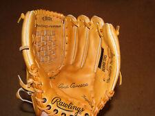 "Rawlings Jose Canseco Model Leather Baseball Glove Model# Rbg36 12.5"" Size Rh"
