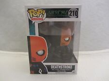 Funko Pop! DEATHSTROKE Arrow #210 Vinyl Figure   MIB  (116HP)