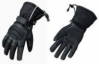 Motorradhandschuhe Winter Motorrad Handschuhe für Herren Damen Langlebig S-XXXL