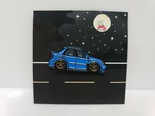 Leen Customs Pin Garage Subaru Impreza WRX STi Blue 2/50 HTF