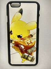 USA Seller Apple iphone 6 & 6S Anime Phone case Cover Attack on Titan & Pikachu