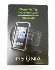 Insignia Armband Case For Apple iPhone 5s, 5c & iPod Touch - Black NS-MA5B2B