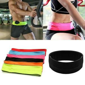 Running Belt Waist Pack Sports Fitness Hiking Money Wallet Expandable Travel