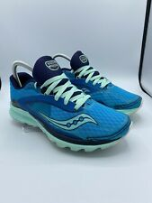 Saucony Natural Series Kinvara 9.5 Everun Blue Women's Athletic Shoes Sneakers