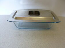 Genuine Hostess Trolley Glass Dish & Stainless Steel Lid