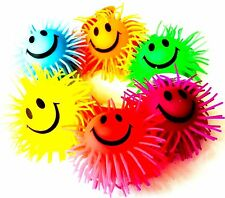Various colour Smiley Stretchy  Ball Sensory Toys Fidget Stress Autism ADHD