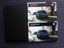 VAUXHALL INSIGNIA 2013-2016 FACELIFT HANDBOOK OWNERS MANUAL PACK PRINT 2015