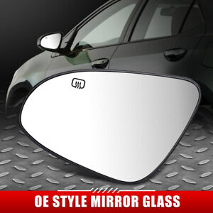 FOR 14-19 TOYOTA COROLLA OE STYLE POWERED+HEATED LEFT SIDE MIRROR GLASS LENS