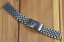 """Vintage TAG HEUER Men's WATCH BAND 18mm 494/3 Stainless Steel FOR F1, 5.75"""""""